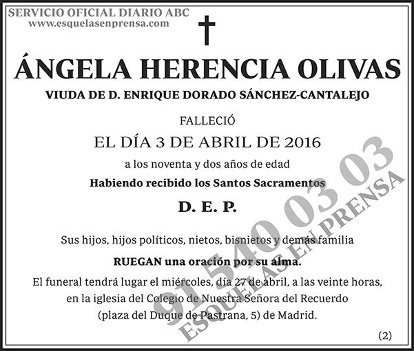 Ángela Herencia Olivas
